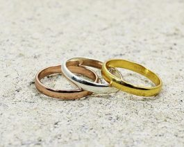 Solid Silver Plain Band Ring