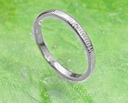 Solid Silver Stackable Ring