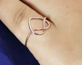 Love Knot Sterling Silver Ring