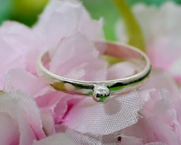Tiny Ball Stackable Ring