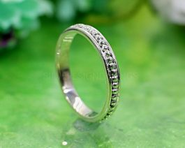 Solid Sterling Silver Dot Ring