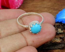 American Turquoise Stackable Ring