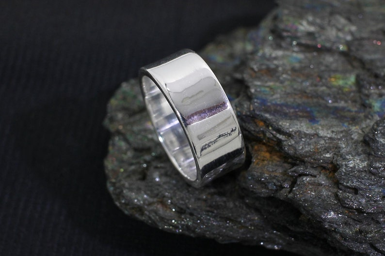 Plain Wide Band Ring